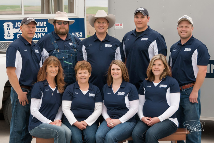 John Temmes Auction and Realty Team Photo